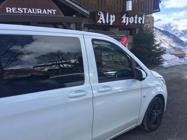 Taxi Saint Martin de Belleville