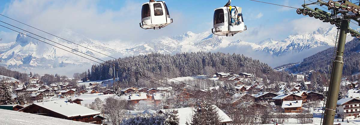 transfer cab ski resort megève