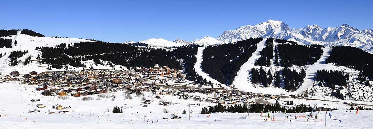 transfer cab ski resort les saisies