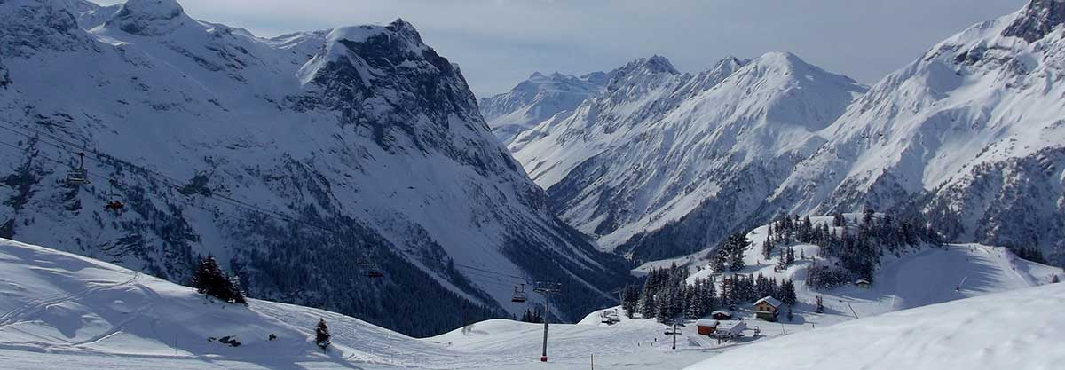 transfer cab ski resort pralognan