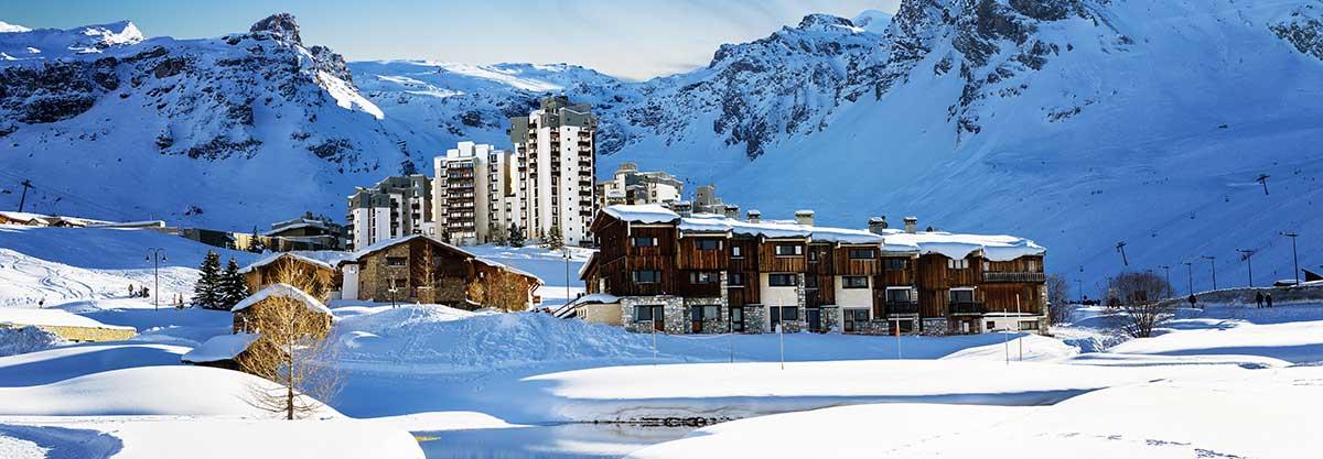 transfer cab ski resort tignes