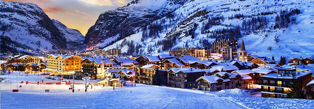 transfer cab ski resort val d'isère