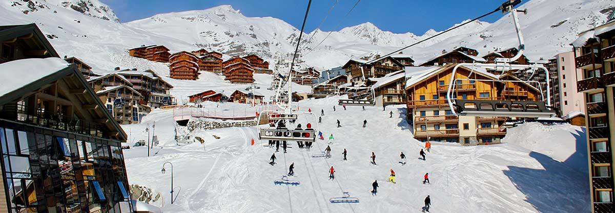 transfert vtc taxi station val thorens transfer cab ski resort
