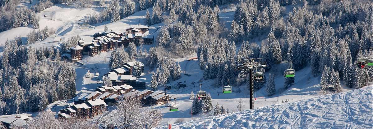 transfer cab ski resort valmorel